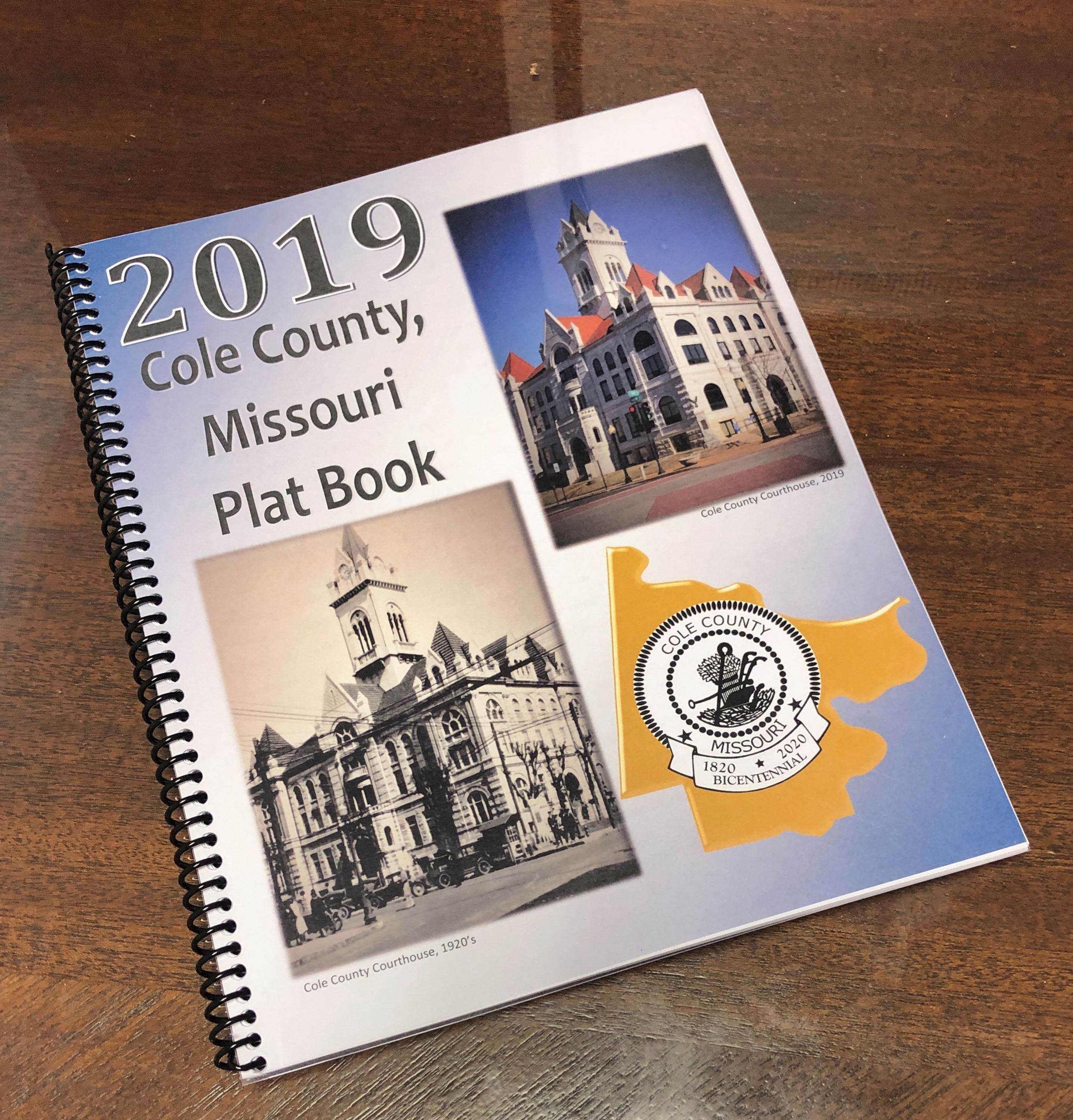 2019 Cole County Plat Book