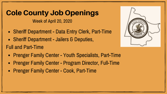 Cole County Jobs